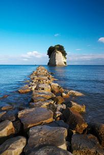 見附島(軍艦島)の写真素材 [FYI01782327]