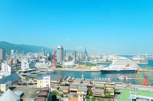 神戸市の街並みの写真素材 [FYI01782343]