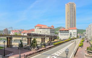 宝塚市の街並みの写真素材 [FYI01782363]