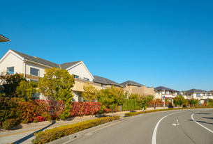 関西の住宅の写真素材 [FYI01782390]