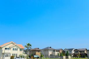 関西の住宅の写真素材 [FYI01782550]