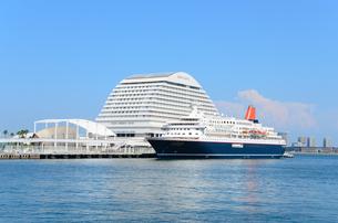 神戸港の景観の写真素材 [FYI01782599]