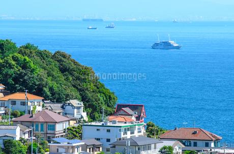 神戸市の海が見える住宅の写真素材 [FYI01782613]