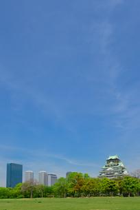 大阪城公園の景観の写真素材 [FYI01782633]