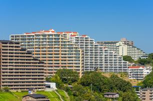 神戸市の住宅の写真素材 [FYI01782644]