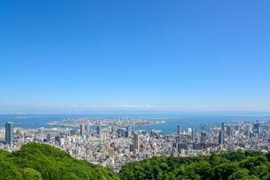 神戸市の街並みの写真素材 [FYI01782694]