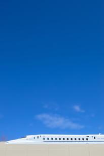 ミニチュアの新幹線の写真素材 [FYI01782783]