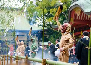 長田神社の節分祭の写真素材 [FYI01782799]