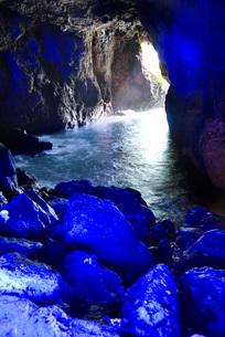 青の洞窟の写真素材 [FYI01782867]