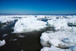 野付半島の流氷の写真素材 [FYI01782869]