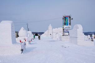 あばしりオホーツク流氷まつりの写真素材 [FYI01782965]