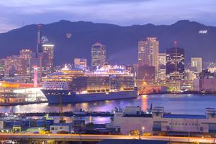 神戸港夜景の写真素材 [FYI01782987]