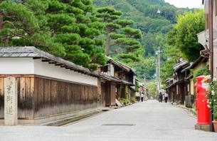 近江八幡市の町並みの写真素材 [FYI01783299]
