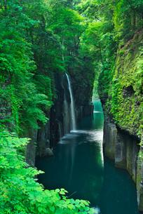 高千穂峡 真名井の滝の写真素材 [FYI01783313]