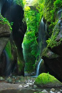 由布川峡谷の写真素材 [FYI01783448]