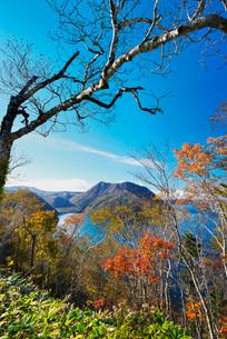 摩周湖の秋の写真素材 [FYI01783449]