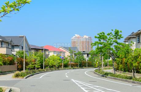 関西の住宅の写真素材 [FYI01783676]
