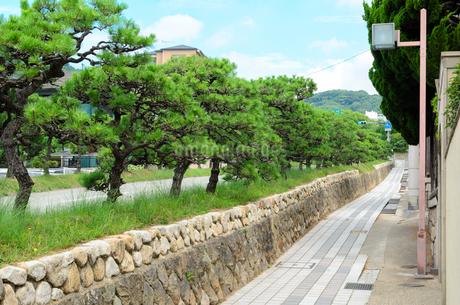 神戸市須磨区の街並みの写真素材 [FYI01783784]