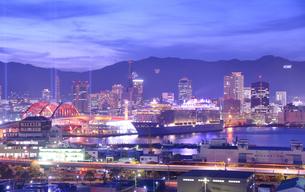 神戸港夜景の写真素材 [FYI01783816]