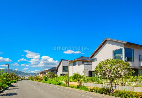 関西の住宅街の写真素材 [FYI01783817]