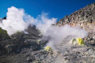 硫黄山の写真素材 [FYI01783827]