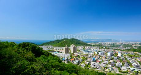 神戸市の海が見える住宅の写真素材 [FYI01783942]