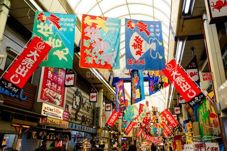 明石 魚の棚商店街の写真素材 [FYI01784018]
