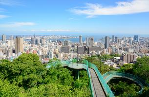 神戸市の街並みの写真素材 [FYI01784021]