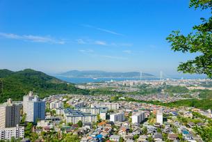 神戸市西部の街並みの写真素材 [FYI01784023]