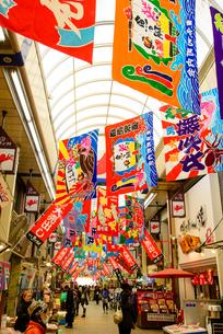 明石 魚の棚商店街の写真素材 [FYI01784026]