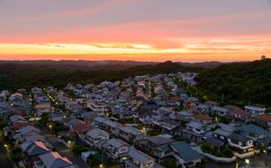 関西の住宅街の写真素材 [FYI01784087]