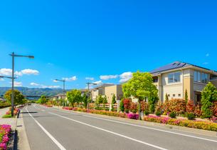 関西の住宅街の写真素材 [FYI01784106]