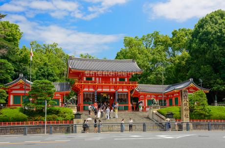 八坂神社の景観の写真素材 [FYI01784113]