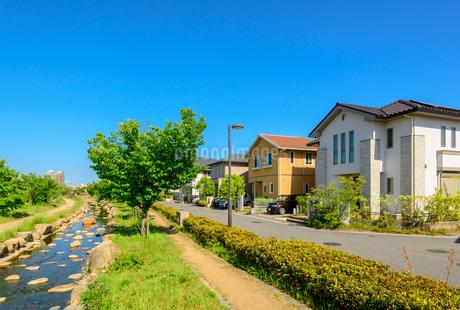 関西の住宅街の写真素材 [FYI01784114]