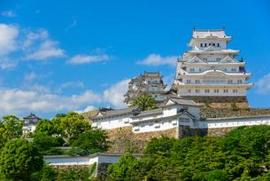 姫路城の写真素材 [FYI01784121]