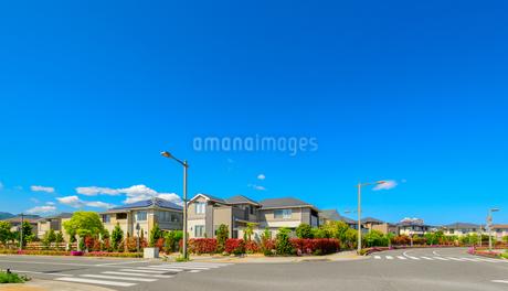 関西の住宅街の写真素材 [FYI01784132]