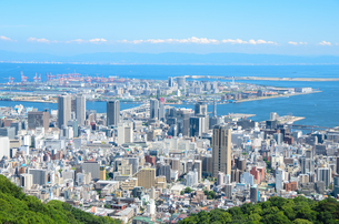 神戸市の街並みの写真素材 [FYI01784143]
