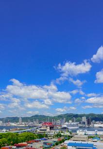 神戸港の景観の写真素材 [FYI01784151]