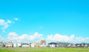 関西の住宅の写真素材 [FYI01784175]