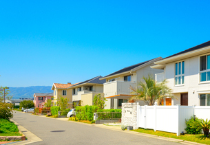 関西の住宅の写真素材 [FYI01784176]