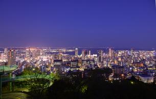 神戸市街の夜景の写真素材 [FYI01784178]