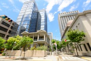 神戸旧居留地のイメージの写真素材 [FYI01784181]