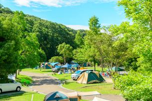 オートキャンプの写真素材 [FYI01784193]