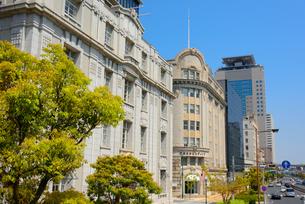 神戸旧居留地の街並みの写真素材 [FYI01784196]