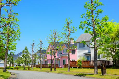 関西の住宅の写真素材 [FYI01784207]