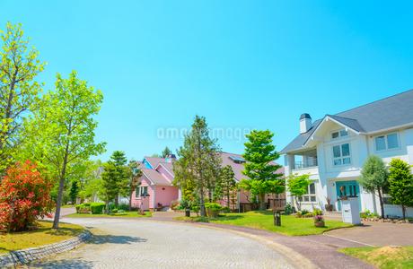 関西の住宅の写真素材 [FYI01784240]