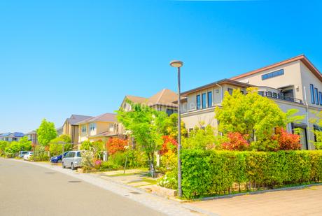 関西の住宅の写真素材 [FYI01784243]