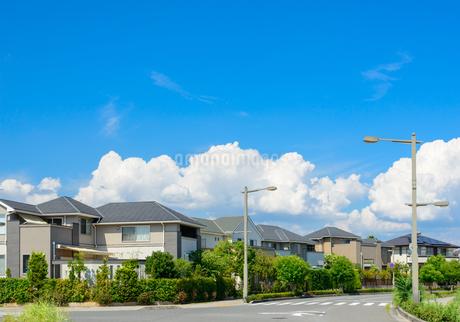 関西の住宅の写真素材 [FYI01784255]