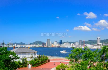 神戸港の景観の写真素材 [FYI01784264]