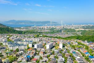神戸市西部の街並みの写真素材 [FYI01784265]